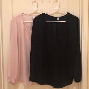 V-Neck Old Navy Blouses